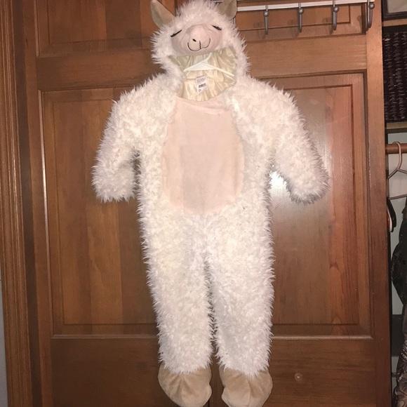 Kids llama costume